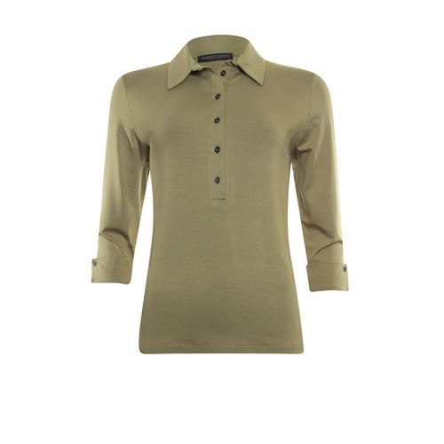 Roberto Sarto ladieswear t-shirts & tops - t-shirt polo. available in size 38,40,42,44,46,48 (brown)