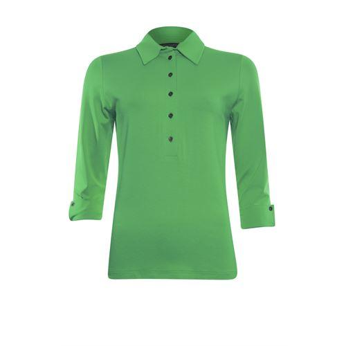 Roberto Sarto dameskleding t-shirts & tops - t-shirt polo. beschikbaar in maat 38,40,42,44,46,48 (groen)