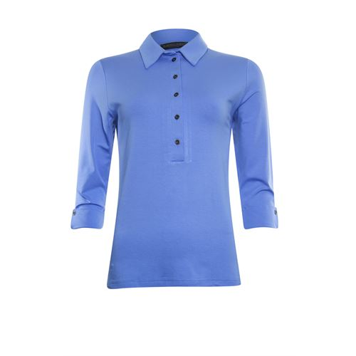 Roberto Sarto ladieswear t-shirts & tops - t-shirt polo. available in size 38,40,42,44,46,48 (blue)