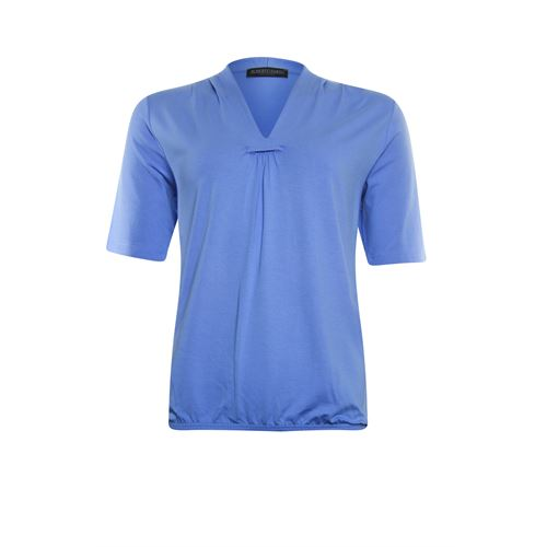 Roberto Sarto ladieswear t-shirts & tops - t-shirt v-neck. available in size 38,40,42,44,46,48 (blue)