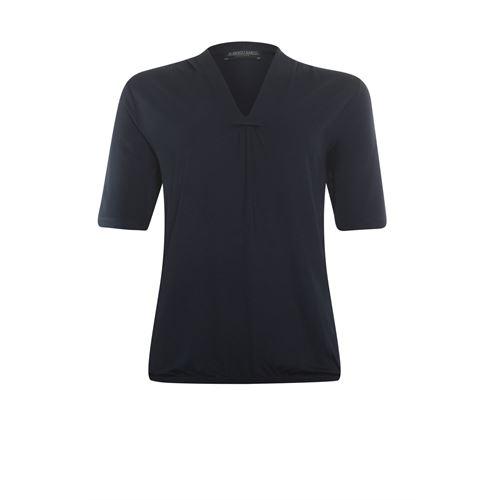 Roberto Sarto dameskleding t-shirts & tops - t-shirt met v-hals. beschikbaar in maat 38,40,42,46,48 (blauw)