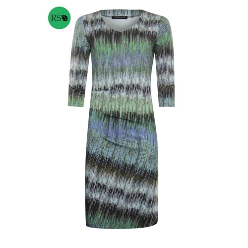 Roberto Sarto ladieswear dresses - dress 3/4 sleeve. available in size 38,40,42,44,46,48 (green,multicolor)