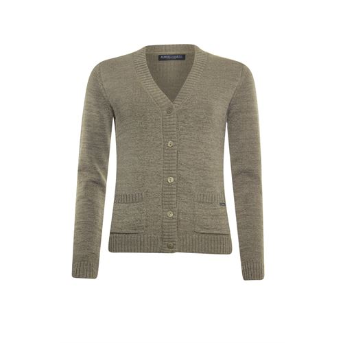 Roberto Sarto ladieswear pullovers & vests - cardigan v-neck. available in size 38,40,42,44,46,48 (brown)