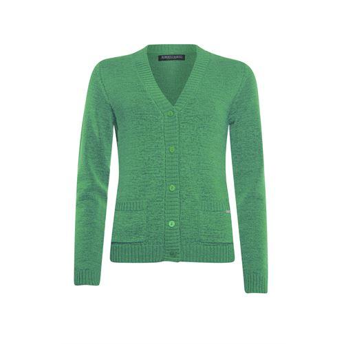 Roberto Sarto dameskleding truien & vesten - vest met v-hals. beschikbaar in maat 38,40,42,44,46,48 (groen)