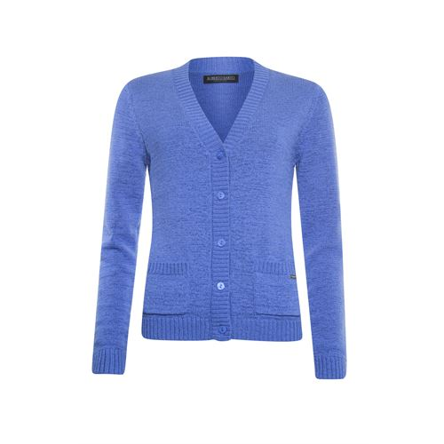 Roberto Sarto ladieswear pullovers & vests - cardigan v-neck. available in size 46 (blue)