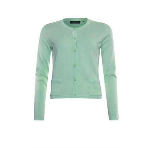 Roberto Sarto dameskleding truien & vesten - vestje met ronde hals. beschikbaar in maat 40,44,48 (groen)