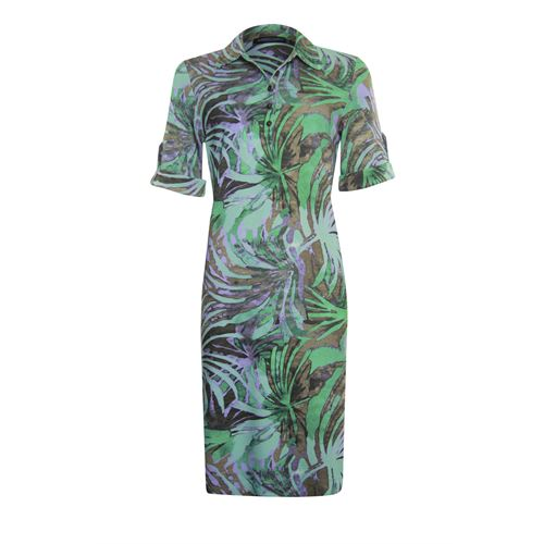 Roberto Sarto ladieswear dresses - dress polo printed. available in size 38,40,42,44,46,48 (green,multicolor,olive)