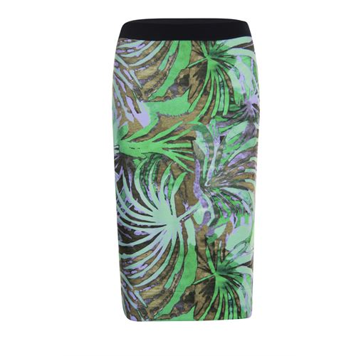 Roberto Sarto ladieswear skirts - skirt printed. available in size 38,40,42,44,46,48 (green,multicolor,olive)
