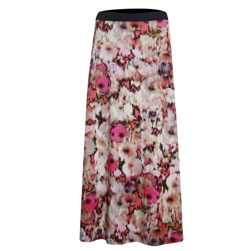Roberto Sarto ladieswear skirts - skirt long. available in size 38,40,42,44,46,48 (brown,multicolor,rose)