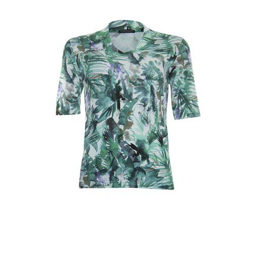Roberto Sarto dameskleding t-shirts & tops - t-shirt met ronde hals. beschikbaar in maat 38,40,42,44,46,48 (multicolor)