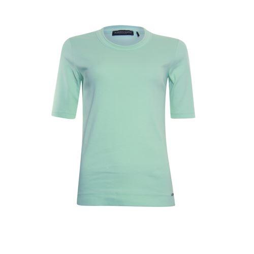 Roberto Sarto dameskleding t-shirts & tops - t-shirt met ronde hals. beschikbaar in maat 40,42,44,46,48 (groen)