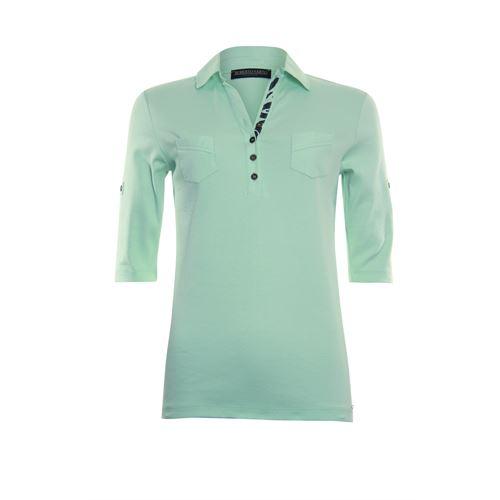 Roberto Sarto dameskleding t-shirts & tops - polo shirt. beschikbaar in maat 38,40,42,44,46,48 (groen)