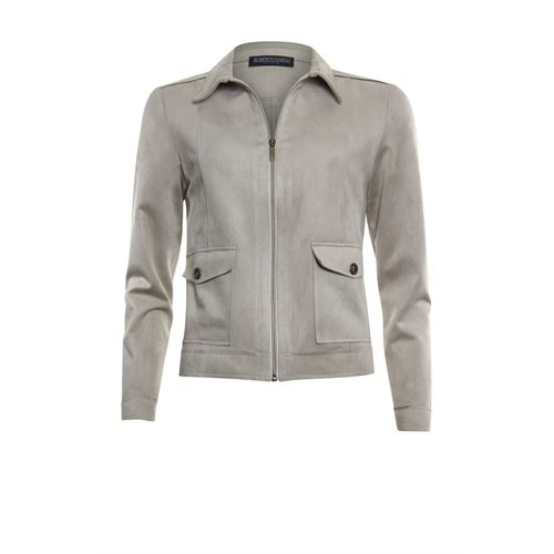 Roberto Sarto ladieswear coats & jackets - jacket polo with zipper. available in size 38,40,42,44,46,48 (brown)