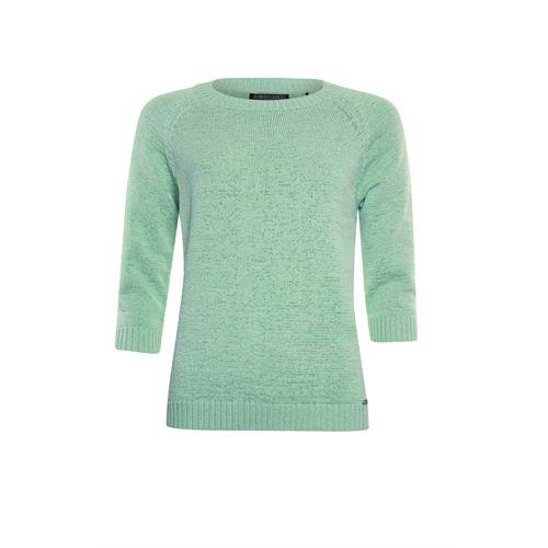 Roberto Sarto dameskleding truien & vesten - pullover ronde hals 3/4 mouw. beschikbaar in maat 38,40,42,44,46,48 (groen)