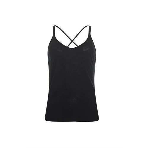 Anotherwoman ladieswear t-shirts & tops - singlet. available in size 38,40,42,44,46 (black)