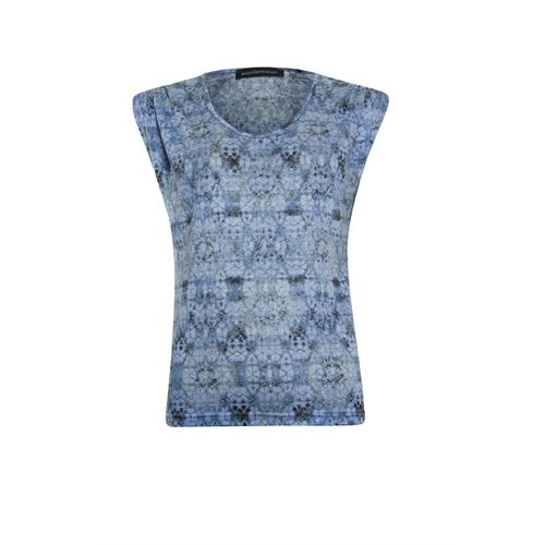 Anotherwoman ladieswear t-shirts & tops - t-shirt v-neck. available in size 36,38,40,42,44,46 (multicolor)