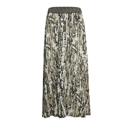 Anotherwoman ladieswear skirts - skirt. available in size 36,38,40,42,44,46 (brown,multicolor)