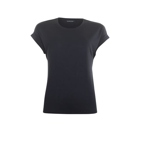 Anotherwoman ladieswear t-shirts & tops - t-shirt o-neck. available in size 40,42,44,46 (black)