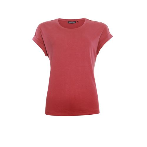 Anotherwoman ladieswear t-shirts & tops - t-shirt o-neck. available in size 36,38,40,42,44,46 (red)