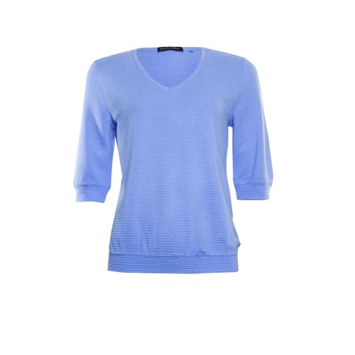 Anotherwoman ladieswear t-shirts & tops - t-shirt 3/4 sleeve. available in size 36,38,40,42,44,46 (blue)
