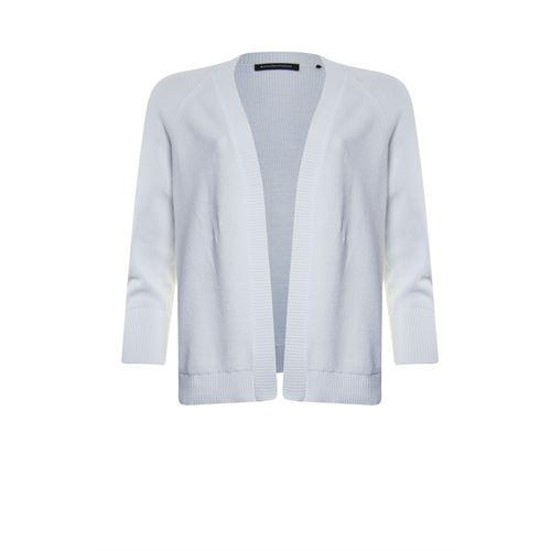 Anotherwoman dameskleding truien & vesten - vest met v-hals. beschikbaar in maat 36,38,40,42,44,46 (wit)