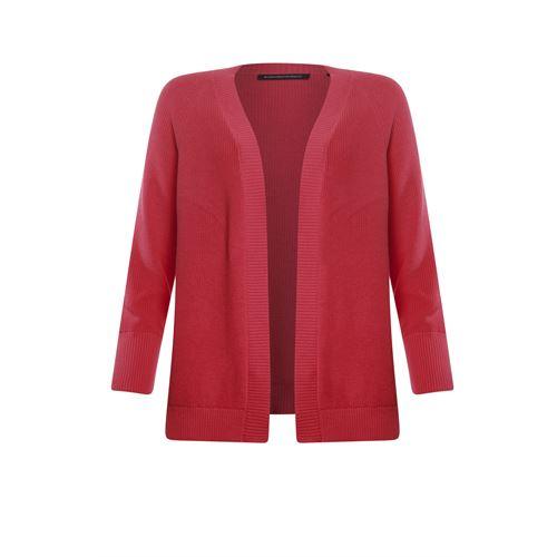 Anotherwoman dameskleding truien & vesten - vest met v-hals. beschikbaar in maat 40,42,44,46 (rood)