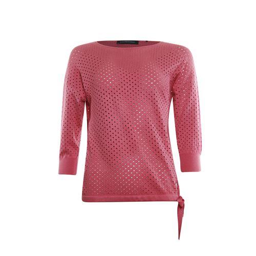 Anotherwoman dameskleding truien & vesten - pullover ronde hals. beschikbaar in maat 36,38,40,42,44,46 (rood)
