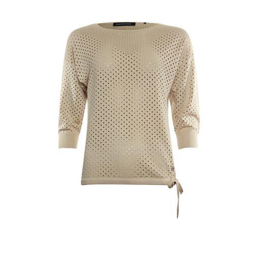 Anotherwoman dameskleding truien & vesten - pullover ronde hals. beschikbaar in maat 36,38,40,42,46 (bruin)