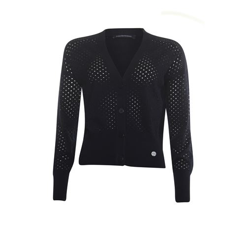 Anotherwoman ladieswear pullovers & vests - cardigan v-neck. available in size 36,38,40,42,44,46 (black)
