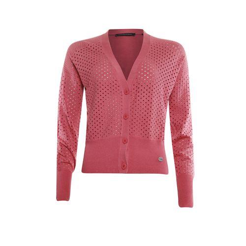 Anotherwoman dameskleding truien & vesten - vest v-hals. beschikbaar in maat 38,40,42,44 (rood)