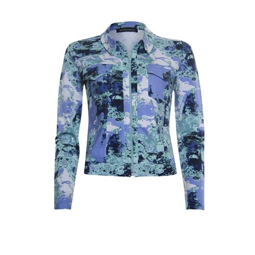 Anotherwoman ladieswear coats & jackets - jacket printed. available in size 38,40,42,44,46 (blue,green,multicolor)