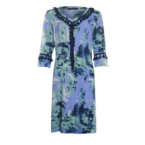 Anotherwoman ladieswear dresses - dress 3/4 sleeve. available in size 36,38,40,42,44,46 (blue,green,multicolor,white)