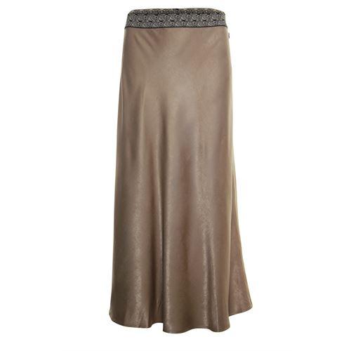 Anotherwoman dameskleding rokken - rok. beschikbaar in maat 38,40,42,44,46 (bruin)