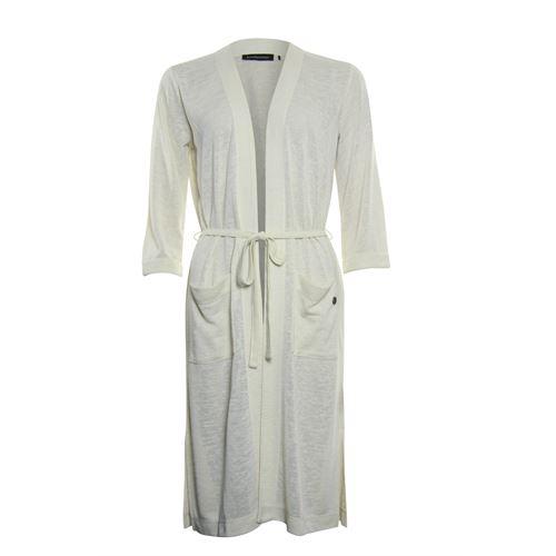 Anotherwoman dameskleding truien & vesten - vest lang model. beschikbaar in maat 38,40,42,44,46 (ecru)
