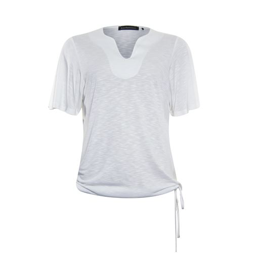 Anotherwoman ladieswear t-shirts & tops - t-shirt s/s. available in size 38,42 (white)
