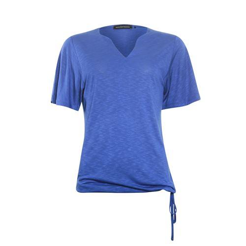 Anotherwoman dameskleding t-shirts & tops - t-shirt k/m. beschikbaar in maat  (blauw)
