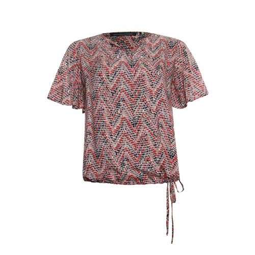 Anotherwoman ladieswear blouses & tunics - blouson. available in size 40,44 (brown,multicolor,red)