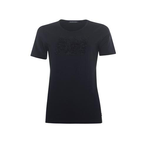 Anotherwoman dameskleding t-shirts & tops - t-shirt k/m. beschikbaar in maat 38,42,44,46 (zwart)