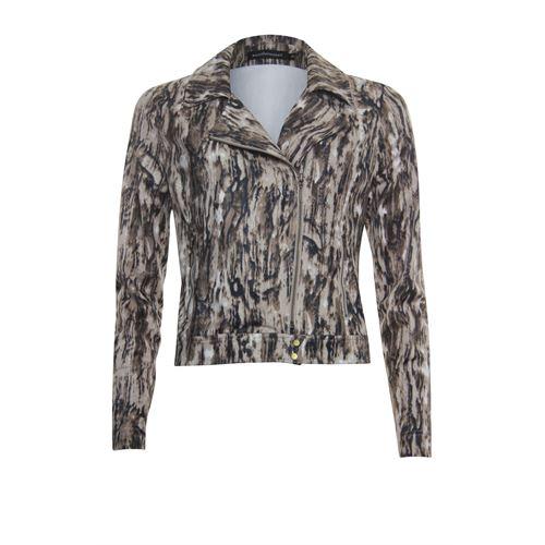 Anotherwoman ladieswear coats & jackets - bikerjacket. available in size 36,38,40,42,44,46 (brown,multicolor)