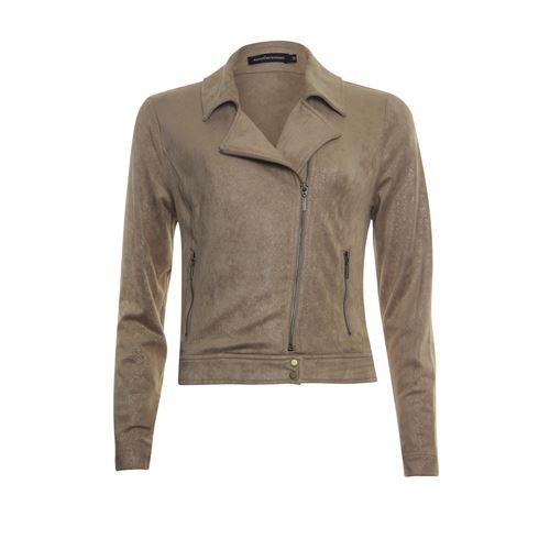 Anotherwoman ladieswear coats & jackets - bikerjacket. available in size 36,38,40,42,44,46 (brown)