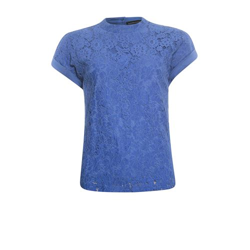 Anotherwoman ladieswear t-shirts & tops - t-shirt. available in size 38,40,42,44,46 (blue)