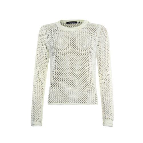 Anotherwoman dameskleding truien & vesten - pullover 3/4  mouw. beschikbaar in maat 36,38,40,42,44,46 (wit)
