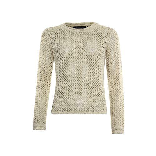 Anotherwoman dameskleding truien & vesten - pullover 3/4  mouw. beschikbaar in maat 36,38,40,42,44,46 (bruin)