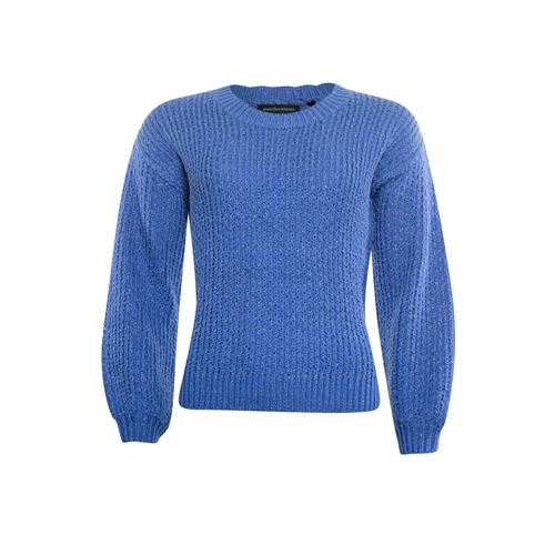Anotherwoman ladieswear pullovers & vests - pullover o-neck. available in size 38,40,42,44,46 (blue)