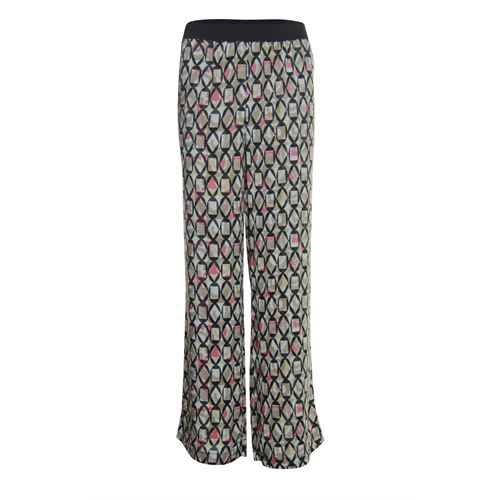 Anotherwoman ladieswear trousers - pants printed. available in size 38,40,42,44,46 (black,brown,multicolor,red)