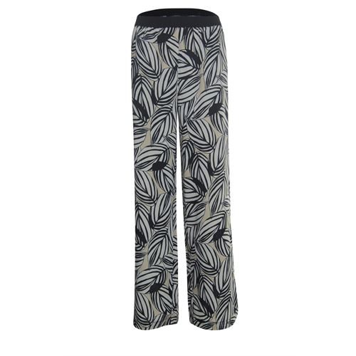 Anotherwoman ladieswear trousers - pants printed. available in size 36,38,40,42,44,46 (black,multicolor,off-white)