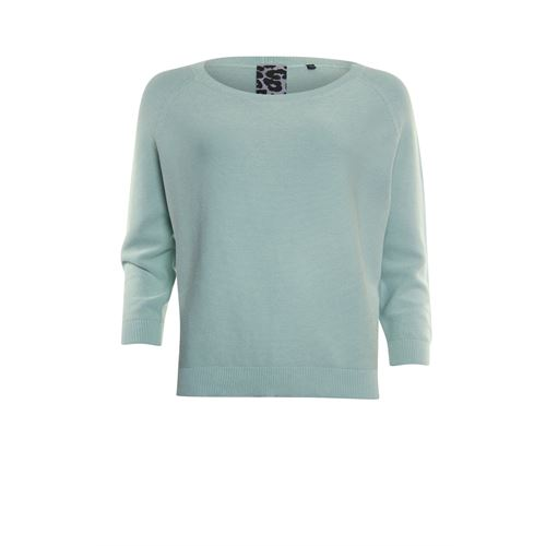 Poools ladieswear pullovers & vests - sweater washed. available in size 36,38,40,42,44,46 (green)