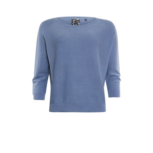 Poools ladieswear pullovers & vests - sweater washed. available in size 36,38,40,42,44,46 (blue)