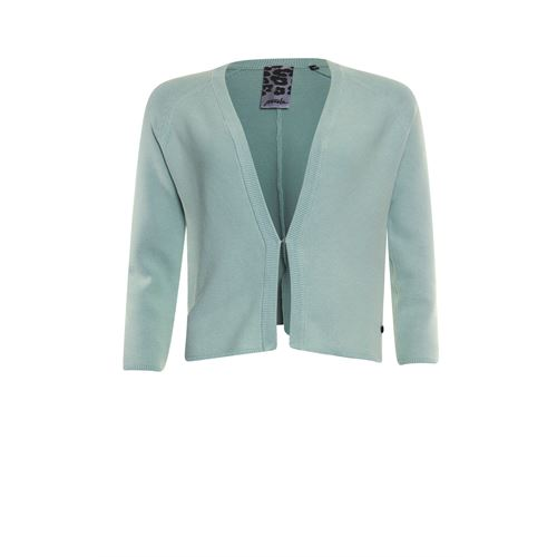 Poools ladieswear pullovers & vests - cardigan washed. available in size 36,38,40,42,44,46 (green)