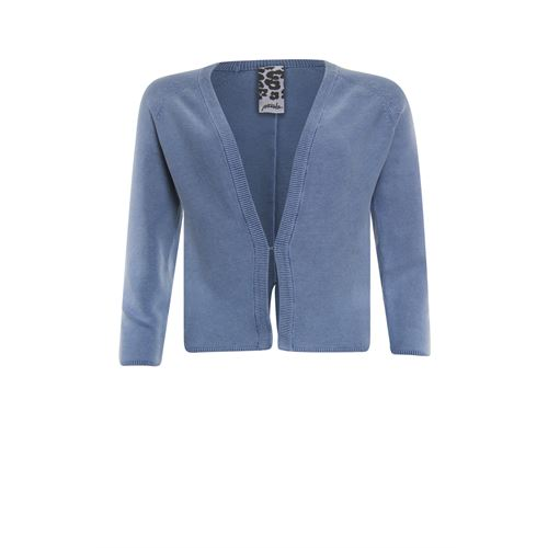 Poools ladieswear pullovers & vests - cardigan washed. available in size 36,38,40,42,44,46 (blue)